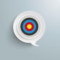 Speech Bubble Target PiAd