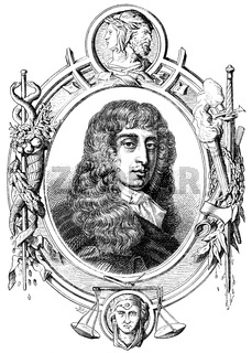 Arthur Capell or Capel, 1st Earl of Essex, 1631-1683, an English statesman, Arthur Capell, 1. Earl of Essex, 1631-1683, ein englischer Staatsmann
