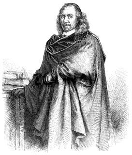 Pierre Corneille, 1606 - 1684, a French author