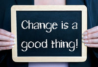 Change is a good thing !