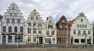 Giebelhäuser in Friedrichstadt