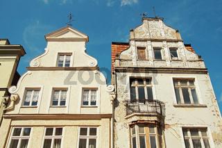 Altbau Wismar Deutschland / Old Apartment Building Wismar Germany