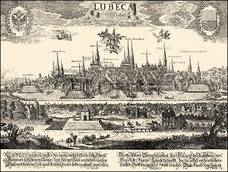 panorama of, 17th century,Germany