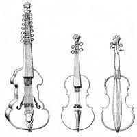 stringed instruments, violin, mute violin 16th Century