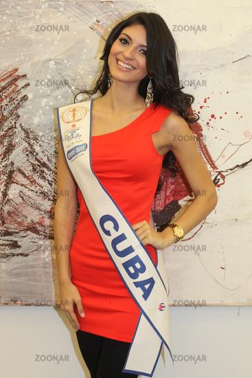 Miss Cuba Intercontinental 2014 Jeslie Mergal