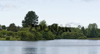 lakeside scenery