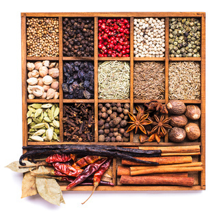 Spice set isolated