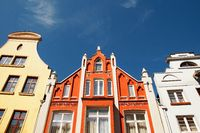Old Apartment Building Wismar Germany