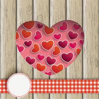 Heart Hole With Hearts Wood