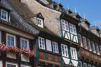 Goslar - Half-timbered houses on Schuhhof
