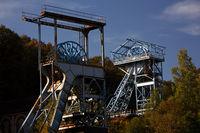 Itzenplitz mine, Schiffweiler, Saarland, Germany