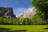 Watzmann massif near Berchtesgaden in Bavaria