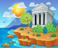 Greek theme image 3 - picture illustration.