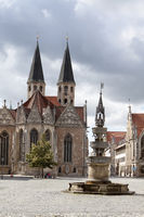 Old town market square, Brunswick, Germany