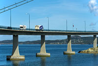 Stord Bridge or Stordabrua across the Digernessund