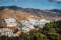 Neighborhood in Malaga. Andalusia, Spain