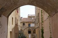 Ile Rousse, old town, Northern Corsica, France