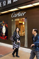 Boutique for Cartier jewelleries, Hong Kong