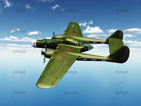 American Night Fighter from WW2