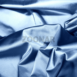 blue satin background closse up