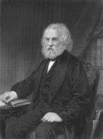 Henry Wadsworth Longfellow, 1807 - 1882, an American poet