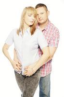 Sweet In Love Couple Portrait