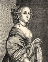 Elizabeth Harvey, 1627 - 1676, wife of Heneage Finch