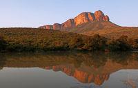 evening light at Apiesrivierpoort, Marakele, SA