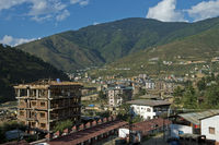 New residential area in the outskirts of Thimphu