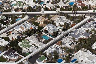 Luftaufnahme Strassen von El Poris, Teneriffa