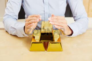 Gold als Geldanlage mit Sicherheit