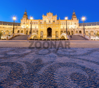 Panorama Espana Square Spain