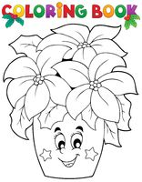 Coloring book Christmas thematics 3 - picture illustration.