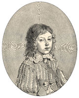 Louis XIV as a child, 1638 - 1715, King of France and Navarre