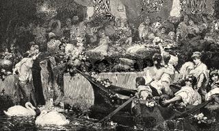 ancient Roman festivals of Bacchus