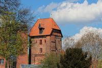 Old Watertower In Lueneburg