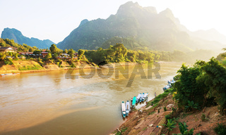 River in Laos