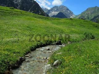 Lechtaler-Alpen, Tyrol, Oesterreich