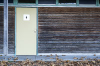 Background wood texture with door