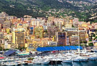 Principality of Monaco harbor