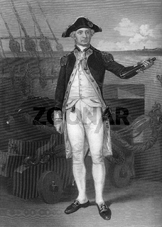 John Paul Jones, 1747 - 1792, Scottish sailor of the United States