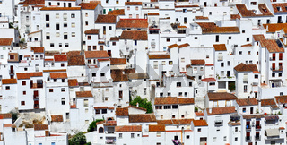 Casares in Andalusien