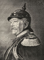 Prince of Bismarck; 1815-1898; Chancellor of the German Empire