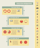 Education Infographic Elements.