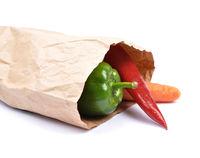 Gemüse in Papiertüte - Vegetabel in paper bag