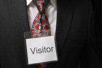 Visitor tag