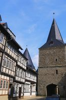 Goslar - Town gate 'Breites Tor'
