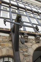 Old City Hall in Hattingen, Germany