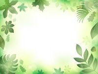 Leaves theme background 2 - picture illustration.
