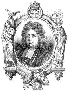Thomas Sprat, 1635-1713, an English author and bishop of Rochester